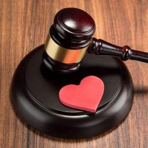 Gavel and Heart