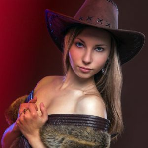 Seductive Cowgirl
